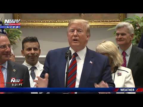 BREAKING: President Trump SURPRISE News Conference