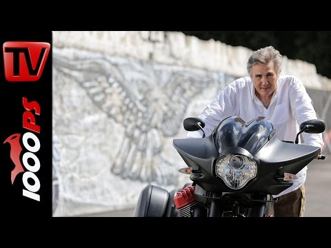 Interview Miguel Galluzzi | Moto Guzzi MGX 21 Flying Fortress