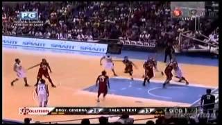 3 Point Shoot Out! Brgy Ginebra vs Talk N' Text