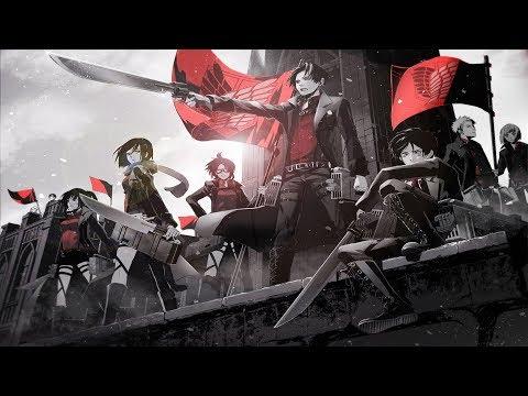 Red Swan Attack On Titan Anime Theme É€²æ'ƒã®å·¨äºº Official Lyric Video Yoshiki Feat Hyde Youtube