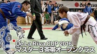 【ヒカルド・デラヒーバ杯2016】マスター3茶帯オープンクラス