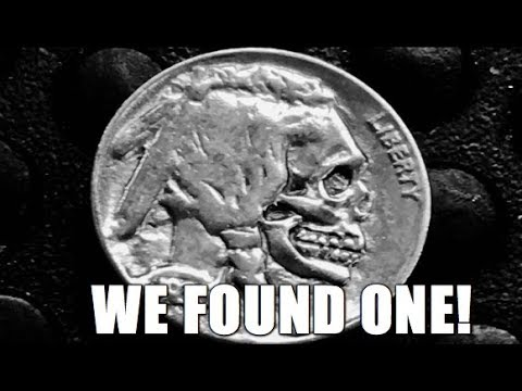 Skull Faced Hobo Buffalo Nickel Found! & Other Awesome Coins