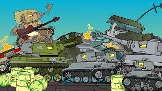 Новый Топ 3 Мультики про танки