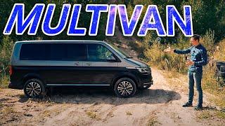 ИДЕАЛ для семьи! Но почему ЗА ТАКИЕ ДЕНЬГИ не продуман? Новый VW Multivan T6.1 2020