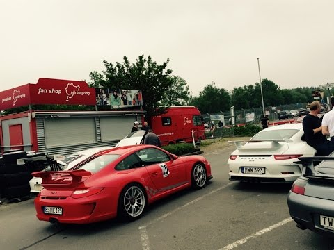 Nürburgring Nordschleife Trackday Megane RS 15 Jun 15 (oversteered)