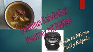 Lentejas estofadas en Moulinex Multicooker MK708810