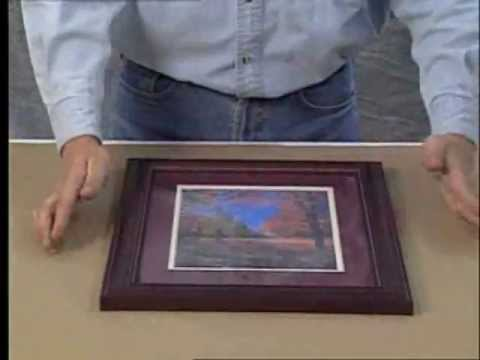 Logan 241 Do It Yourself Picture Framing Finishing Video By