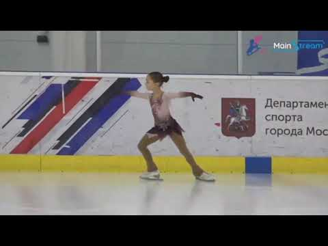 "Daria Zernova(2010), SP, 2019.11.27 Competition ""Medal For Mom"""