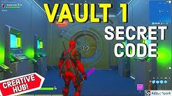 First Vault Secret Code! - Creative Hub Secret - How To Open The First Vault Hub by Rawxbee