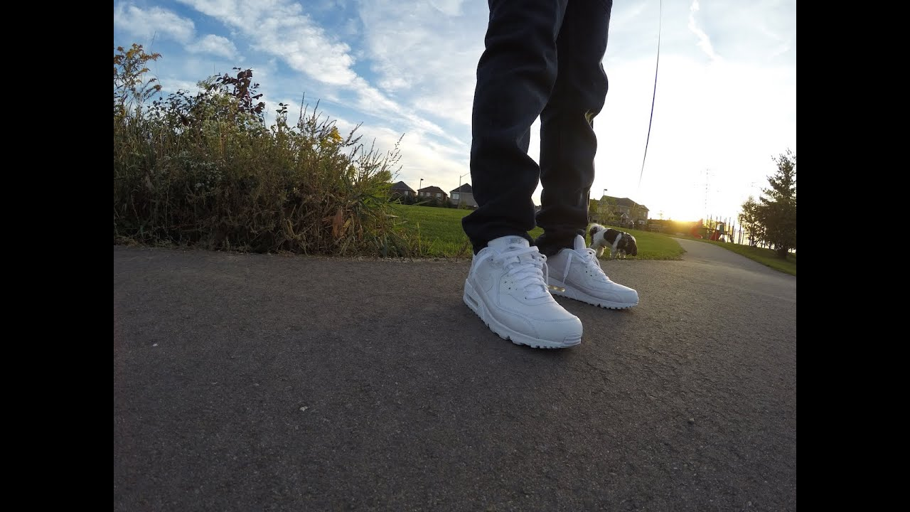 NEVER WEARING JEANS AGAIN (NIKE AIRMAX 90 REVIEW ON FEET)