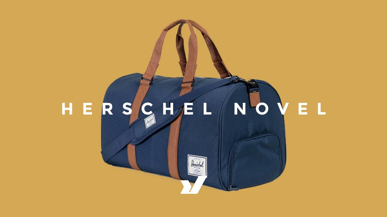 f66447296196 The Herschel Novel Travel Duffle - YouTube