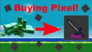 Buying Pixel! My favorite Knife! | Murder Mystery 2 | Roblox