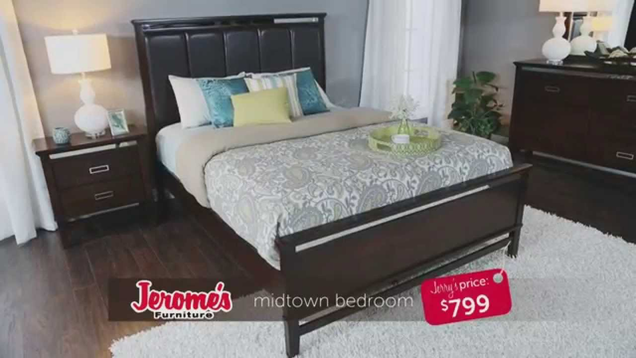 - Jerome's Furniture Midtown Bedroom Collection - YouTube