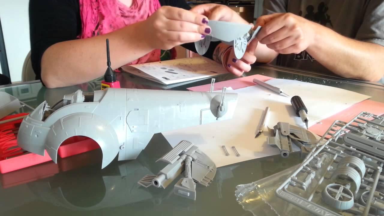 Bandai Hobby Star Wars 1//144 Slave I Building Kit