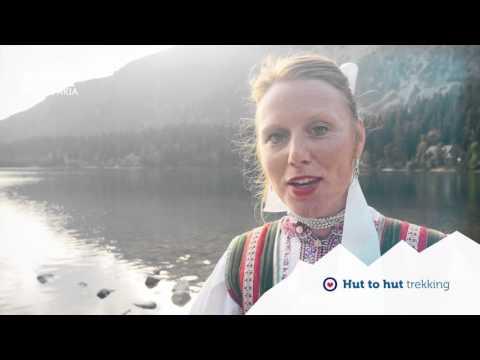 Hiking in High Tatras Mountain Slovakia