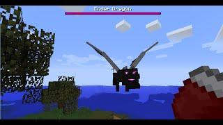 como invocar un dragon en minecraft (sin mods)