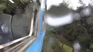 スリランカ 一人旅 スリランカ鉄道 2 Main Line Nanu Oya(ヌワラエリア)➔Ella(エッラ)鉄道車窓風景 SriLanka Alone Trip train Window View