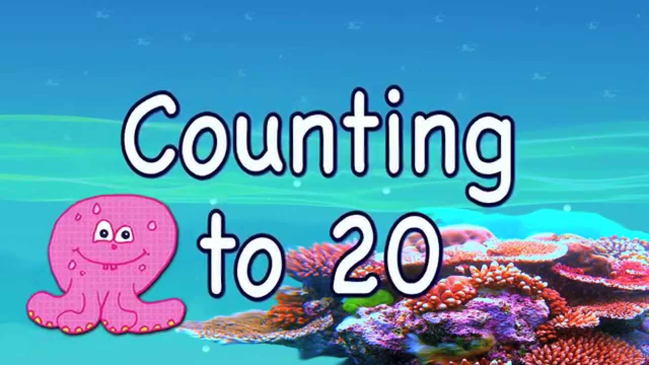 Count to 20: Learning For Toddlers and Preschool Children - YouTube