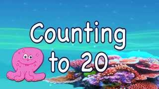 Count to 20: Learning For Toddlers and Preschool Children