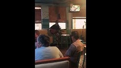 "Jake Perkins/Live 7-20-17@ Blue Water Oyster bar in Jax Beach Fl preforming an Original ""Memories"""