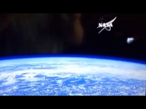 Fritz Blog (57563) - Craft Seen Hovering Over Earth in ISS Live Feed