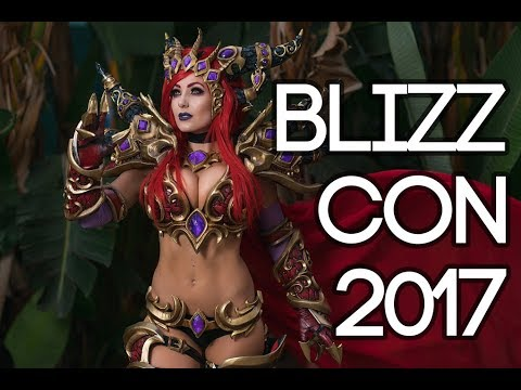 BLIZZCON 2017 COSPLAY MUSIC VIDEO + VLOG!