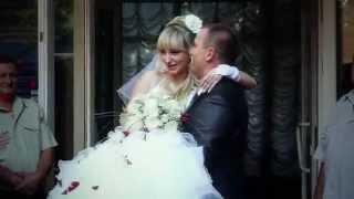 Романтический свадебный ролик в Днепропетровске TVD-Studio