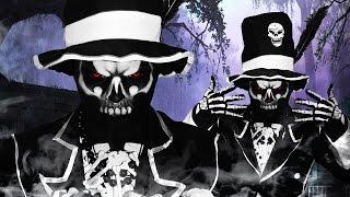 Voodoo Skull - Baron Samedi - Makeup Tutorial!