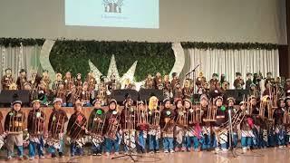 Pertunjukan angklung TK Aba Aisyah se-Yogyakarta