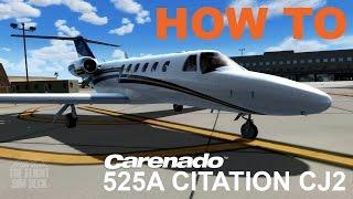 how to   operating the carenado 525a citation cj2   prepar3d v3 4