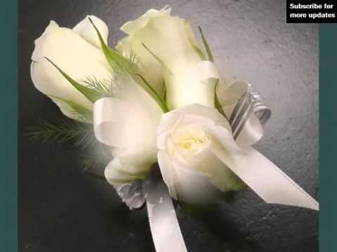 wedding-boutonnieres-and-corsage-white-roses- -corsage-white-roses-romance