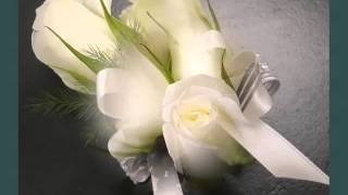 Wedding Boutonnieres And Corsage White Roses | Corsage White Roses Romance