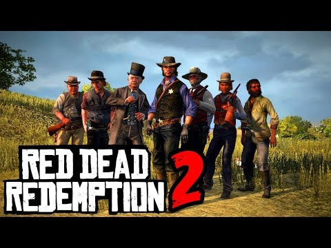 RED DEAD REDEMPTION 2 TA SAINDO DA JAULA FINALMENTE