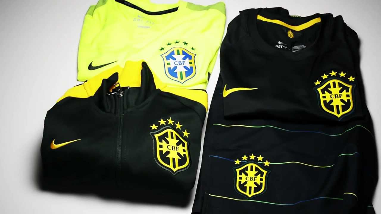 nike brazil training jersey