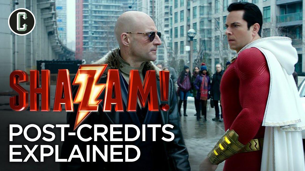 Shazam Post Credit Scene