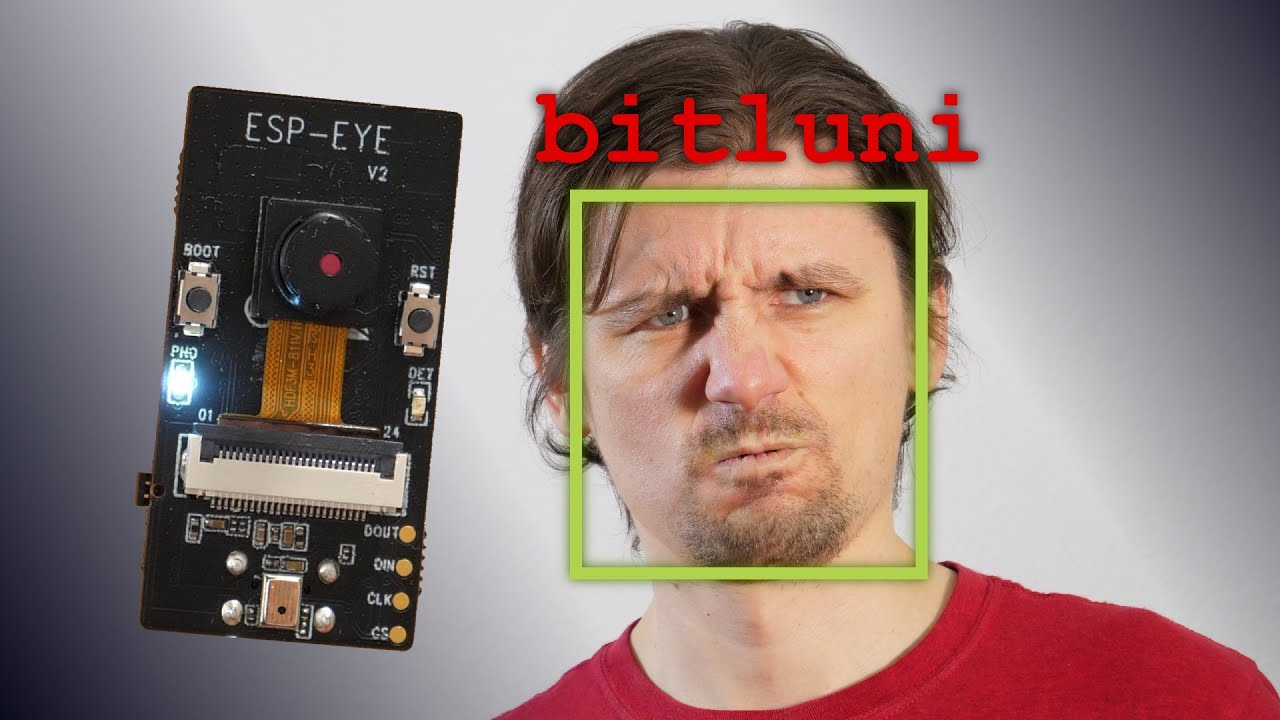 ESP-Eye: First Look [ESP32 Face Recognition]