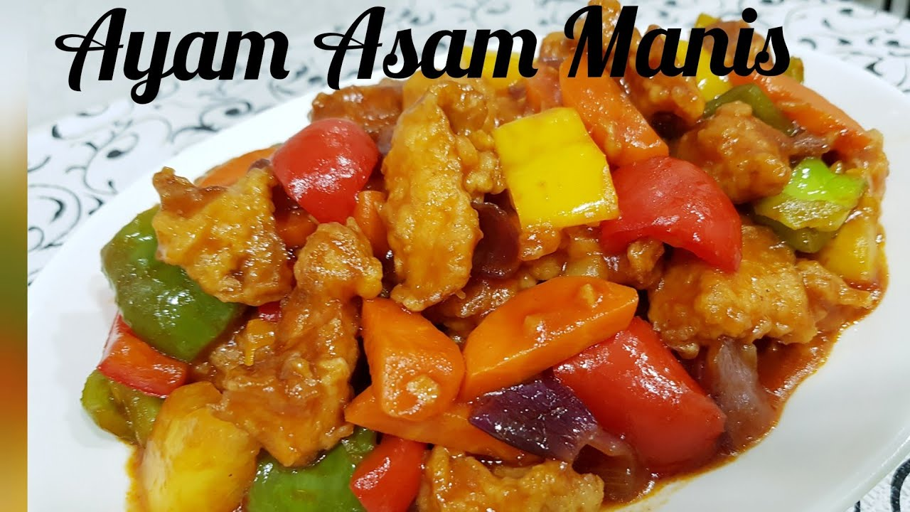 Resep Ayam Asam Manis Koloke Youtube