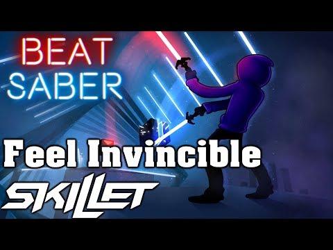 Beat Saber – Feel Invincible – Skillet (custom song) | FC