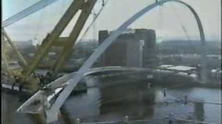 Hercules Carrying The Gateshead Millenium Bridge