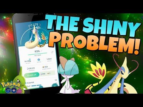 EXPOSING THE BIG SHINY PROBLEM in Pokemon GO!! thumbnail