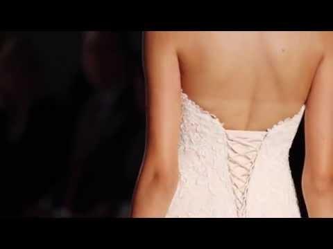 Espectacular desfile de vestidos de noiva Maggie Sottero Primavera 2015 na Bridal Fashion Week