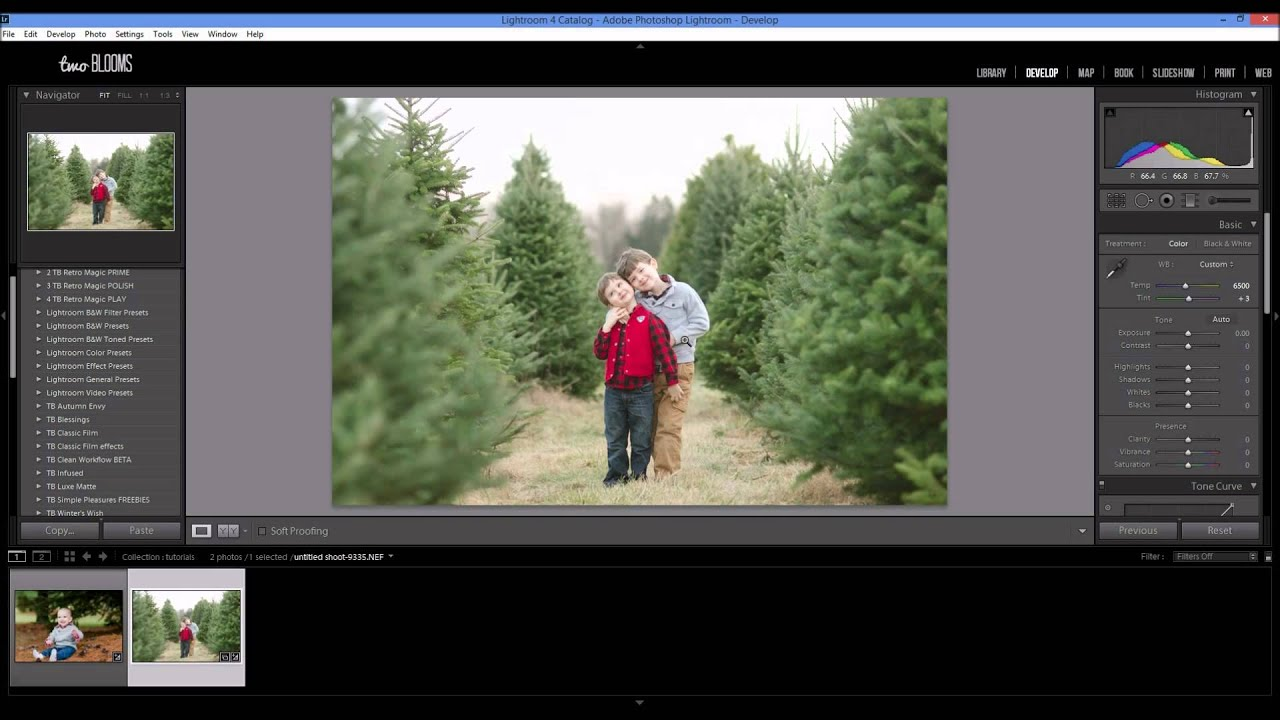 How to fix white balance in Lightroom - YouTube