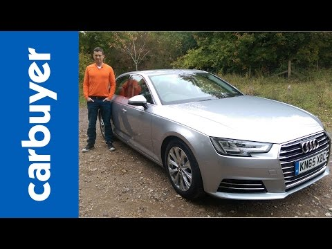 New Audi A4 saloon 2016 review - Carbuyer