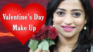 valentine s day makeup tutorial 2017in hindi perfect for indian skin tone indian mom on duty