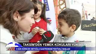 TAKSİM'DEN YEMEK KOKULARI YÜKSELDİ - KANAL 7 - DERYA EFE