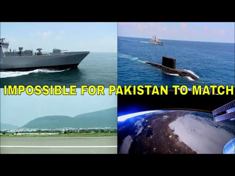 Impossible for Pakistan to match India's Naval Expansion Plan