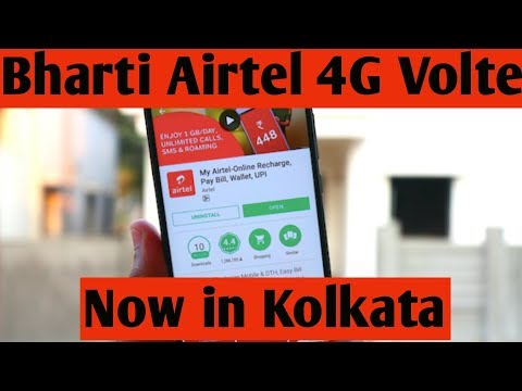 Bharti Airtel 4G Volte Launched in Kolkata