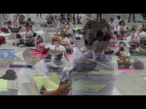 International Yoga Day 2016 Cologne, Germany