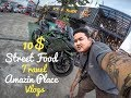 Asian Travel In Container Night Market Cambodia / Container Street Food / Amazin Place (Vlog22)