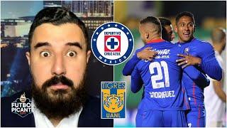 Cruz Azul, IMPARABLE. La Máquina derrotó a Tigres y se mete al tope de la Liga MX. | Futbol Picante